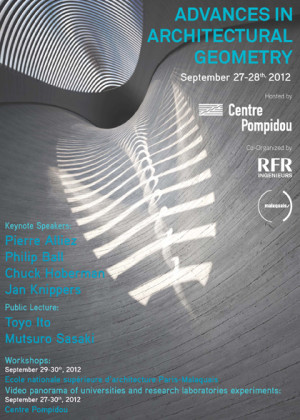 Advances in Architectural Geometry 2012 Workshop